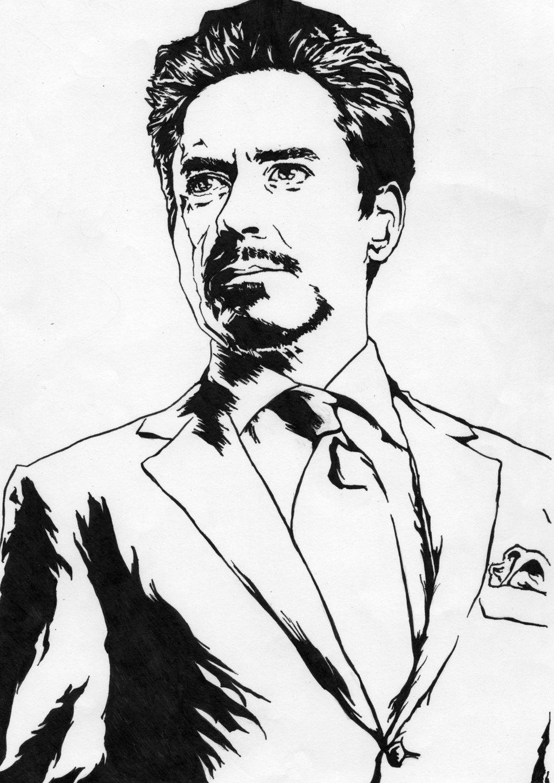 1024x1448 Tony Stark Drawing Easy Tony Stark