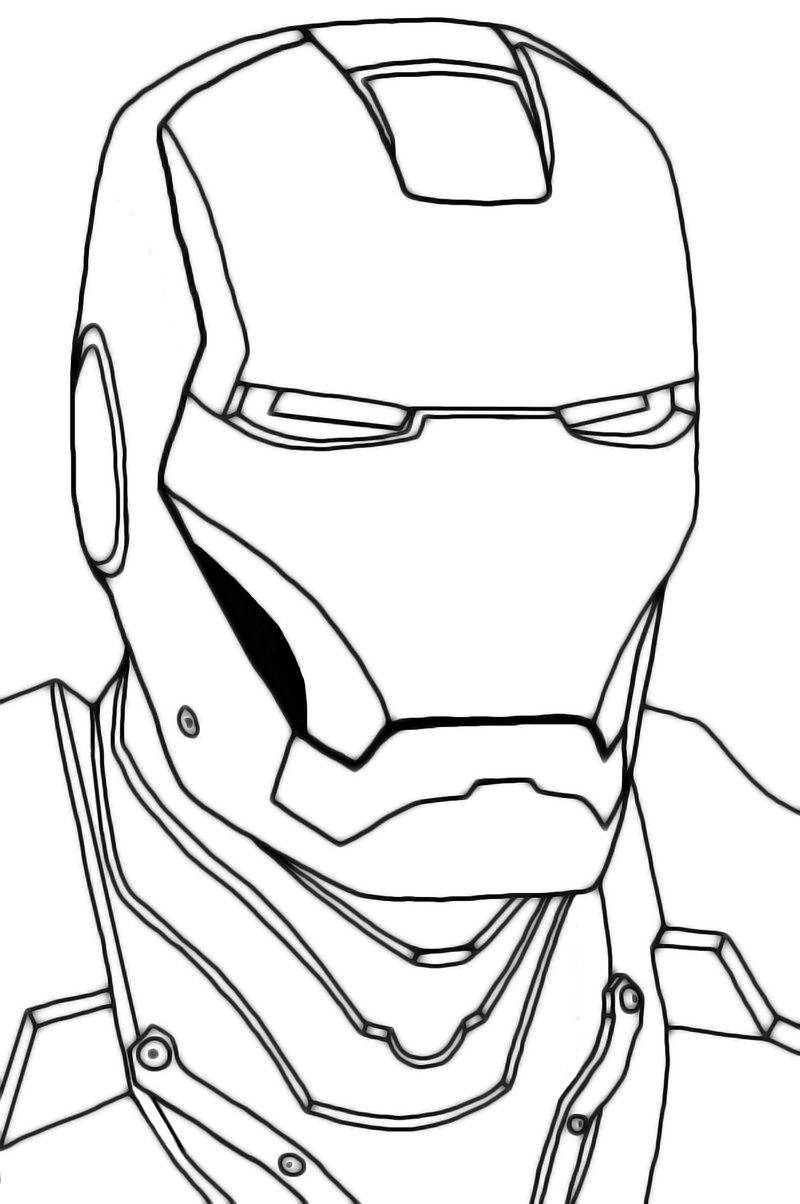 Iron Man Drawing In Pencil At Getdrawings Com Free For Personal