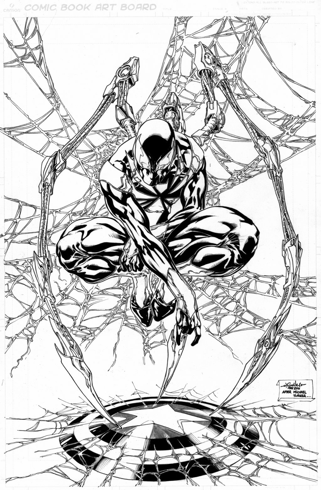 1024x1562 Iron Spider Man Commission By Spiderguile