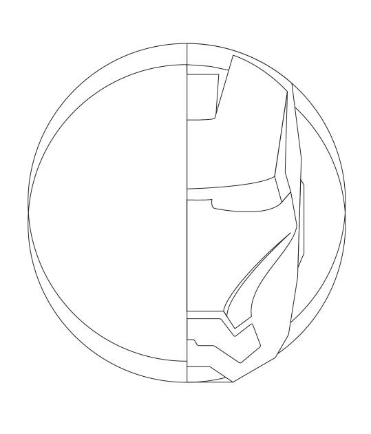 539x630 Iron Man Tutorial Inkscape Design