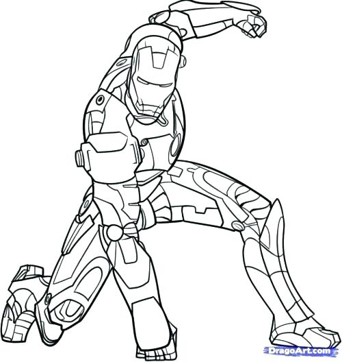 500x528 Coloring Pages Of Iron Man Iron Man Coloring Page Iron Man