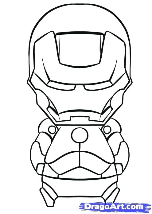 495x697 Epic Iron Man Face Coloring Pages Online