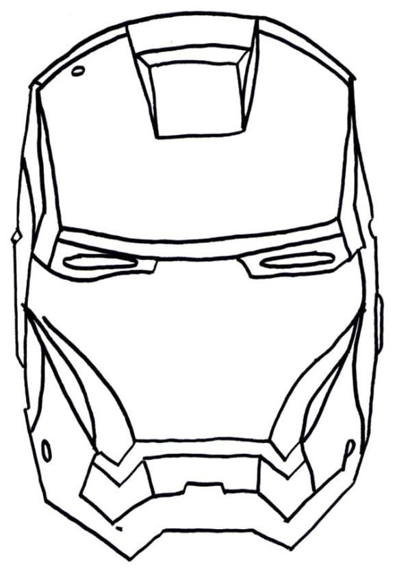 Iron Man Head Drawing At GetDrawings.com | Free For Personal Use Iron Man Head Drawing Of Your ...