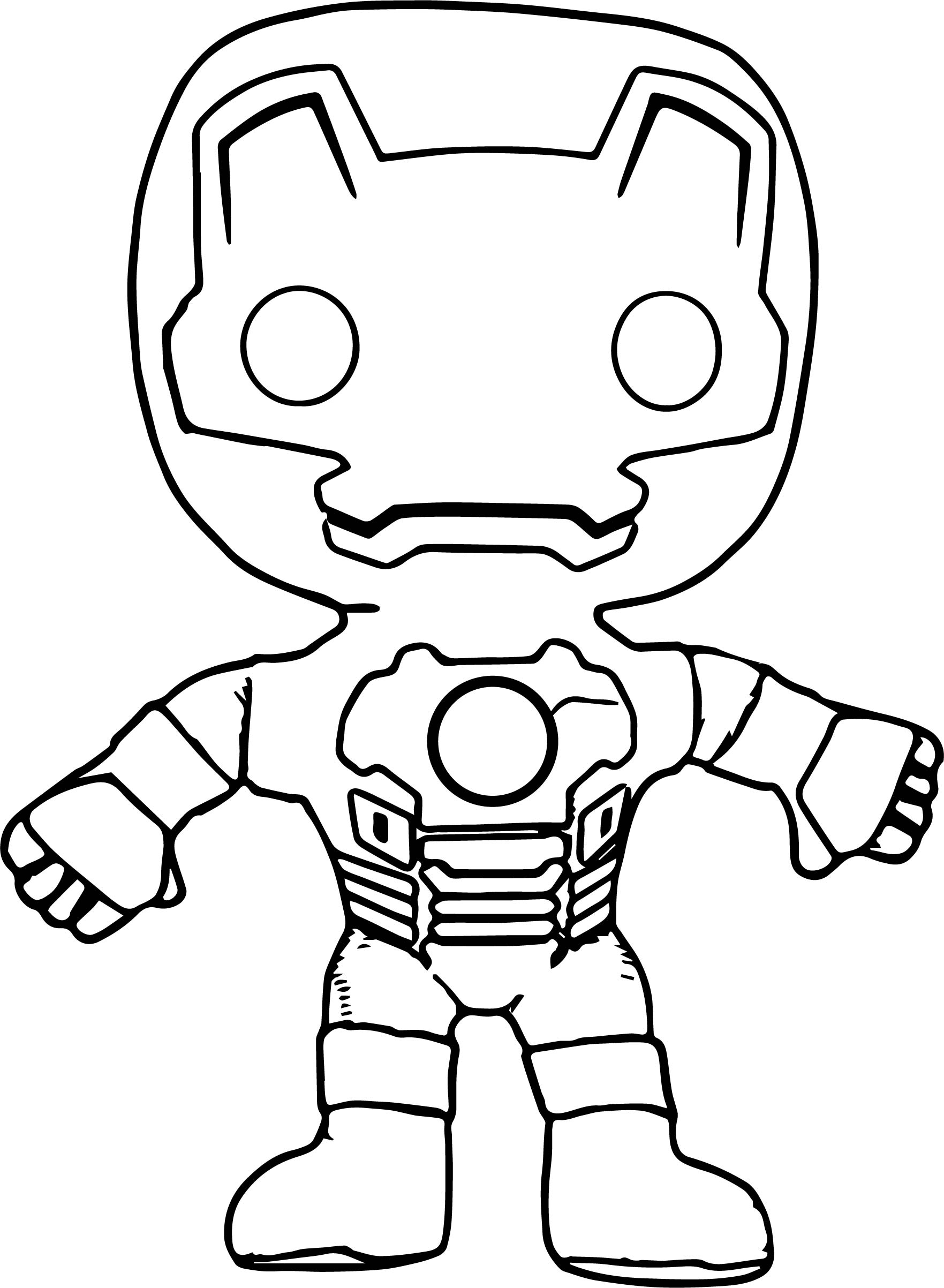 1763x2405 Avengers Iron Man Chibi Coloring Page Wecoloringpage