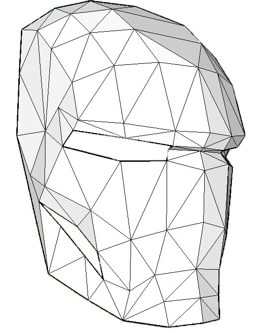 534x673 Iron Man Mask Make Your Own With A Pdf Download Iron Man