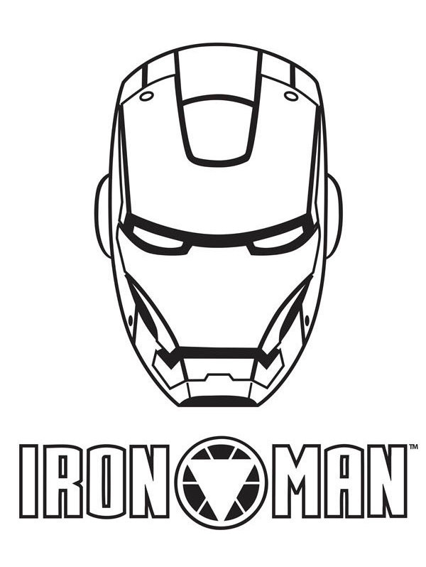 600x798 Iron Man Mask Amp Logo Vinyl Decal By Marvelousgraphics On Etsy