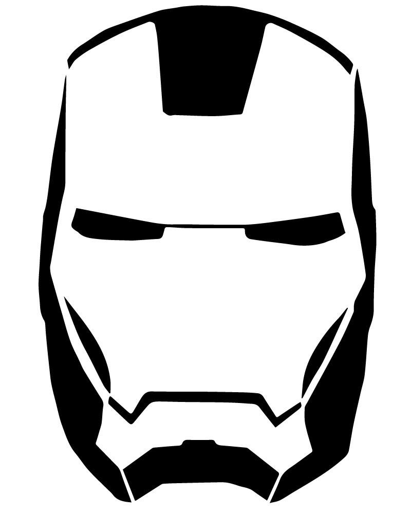 800x1000 Iron Man Black And White Luxury Geekcals Iron Man Mask Decal