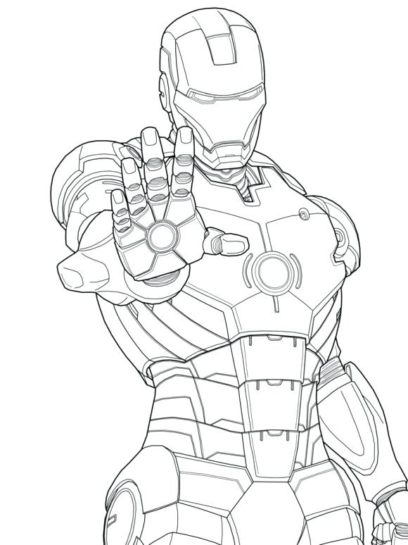 580x774 Iron Man Coloring Book Also Iron Man Coloring Free Printable Iron