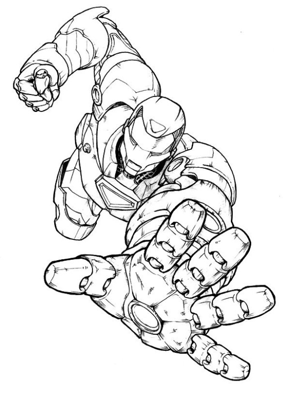 580x820 iron man coloring pages printable coloring pages pinterest