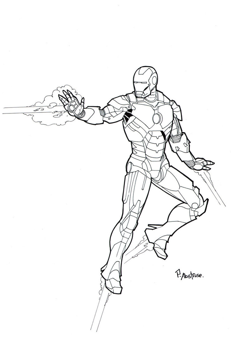 c61b2494a Iron Man Outline Drawing at GetDrawings.com | Free for personal use ...