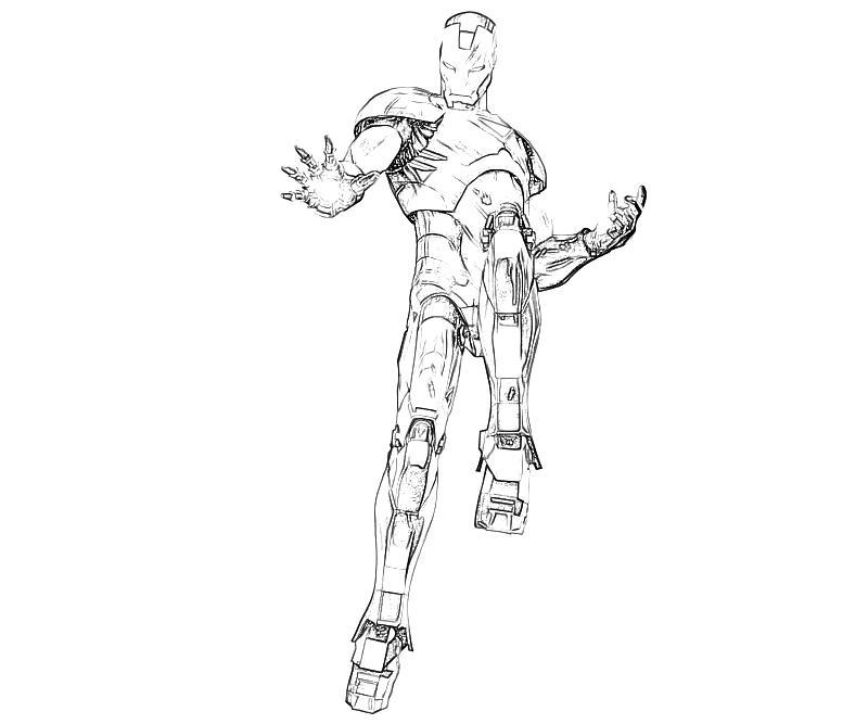800x667 Marvel Vs Capcom Iron Man Character Yumiko Fujiwara