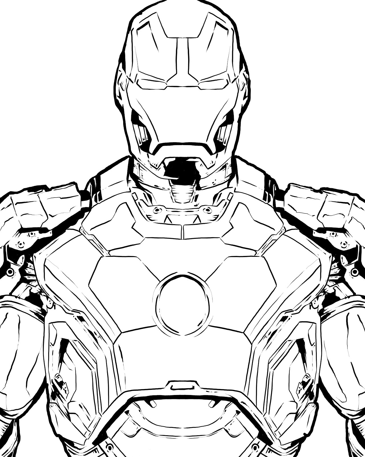 iron man coloring pages 5 1280x1600 117 art