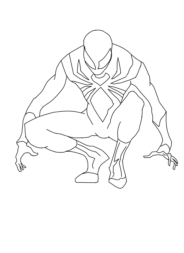 744x1023 Iron Suit Spiderman Preview By Cyberaxl