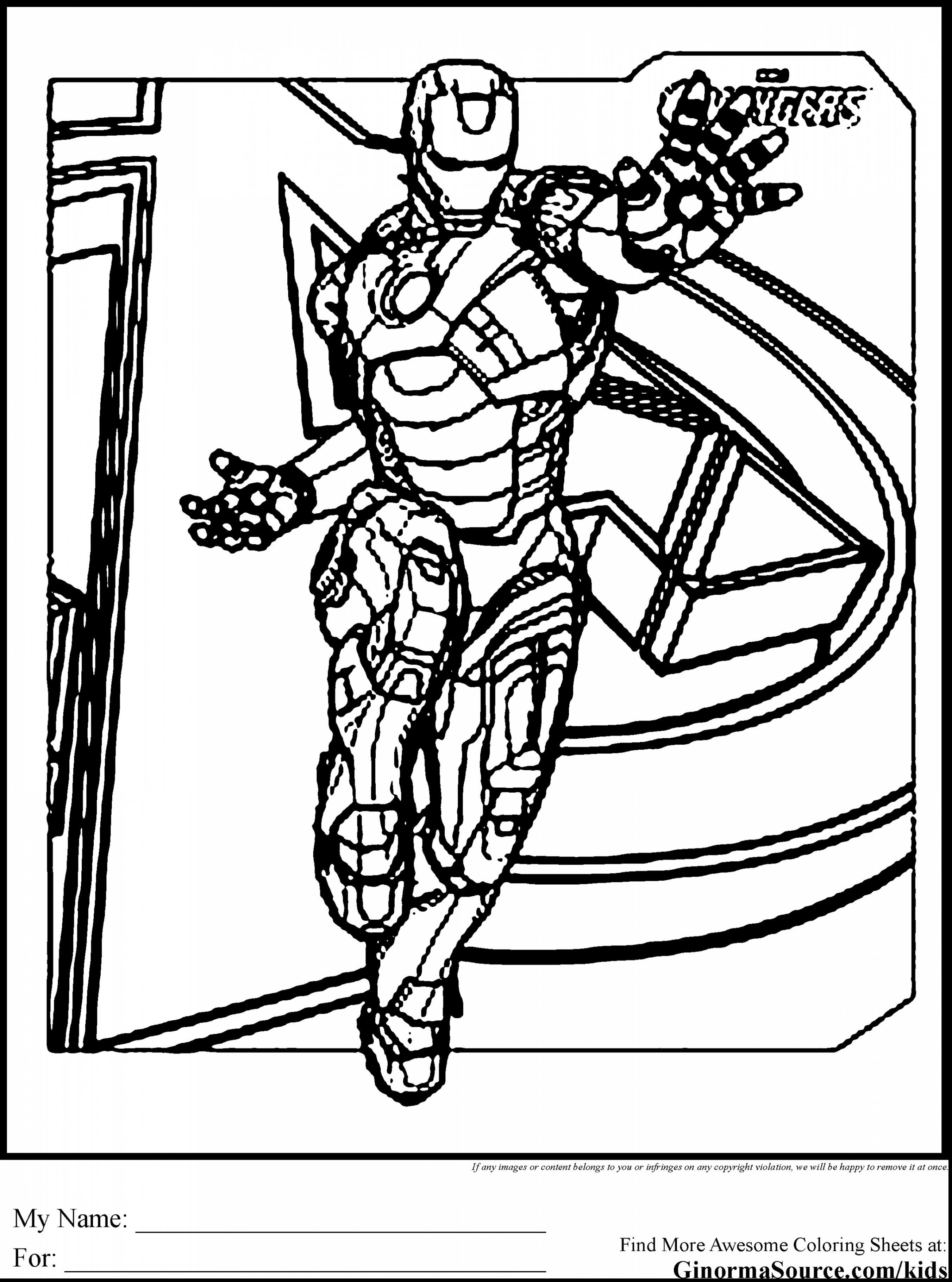 2704x3641 Ironman Coloring Pages Unique Unbelievable Avengers Iron Man