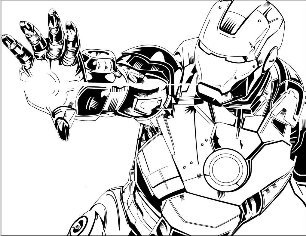 1018x784 Drawing Iron Man Drawing