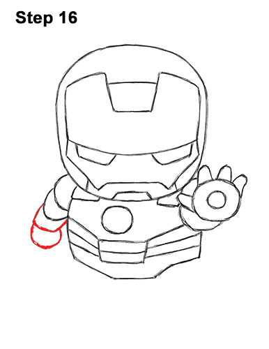 386x500 How To Draw Iron Man (Mini)