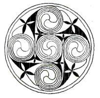 204x200 Milky Way Spiral Symbols.