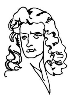 236x327 Isaac Newton Coloring Page For Kids Kids Coloring Pages