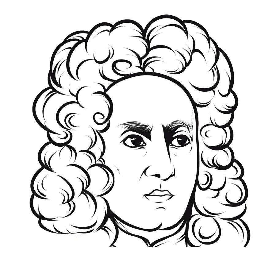 900x867 Face Angry Isaac Newton Coloring Page For Kids Kids Coloring
