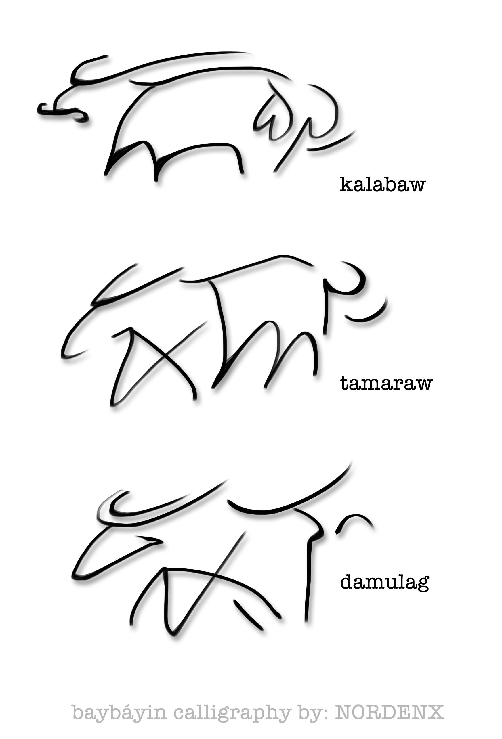 1745x2570 Baybayin Buffalos By Nordenx