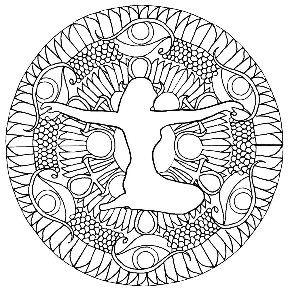 1000x1006 Isis Goddess Mandala Taraloma