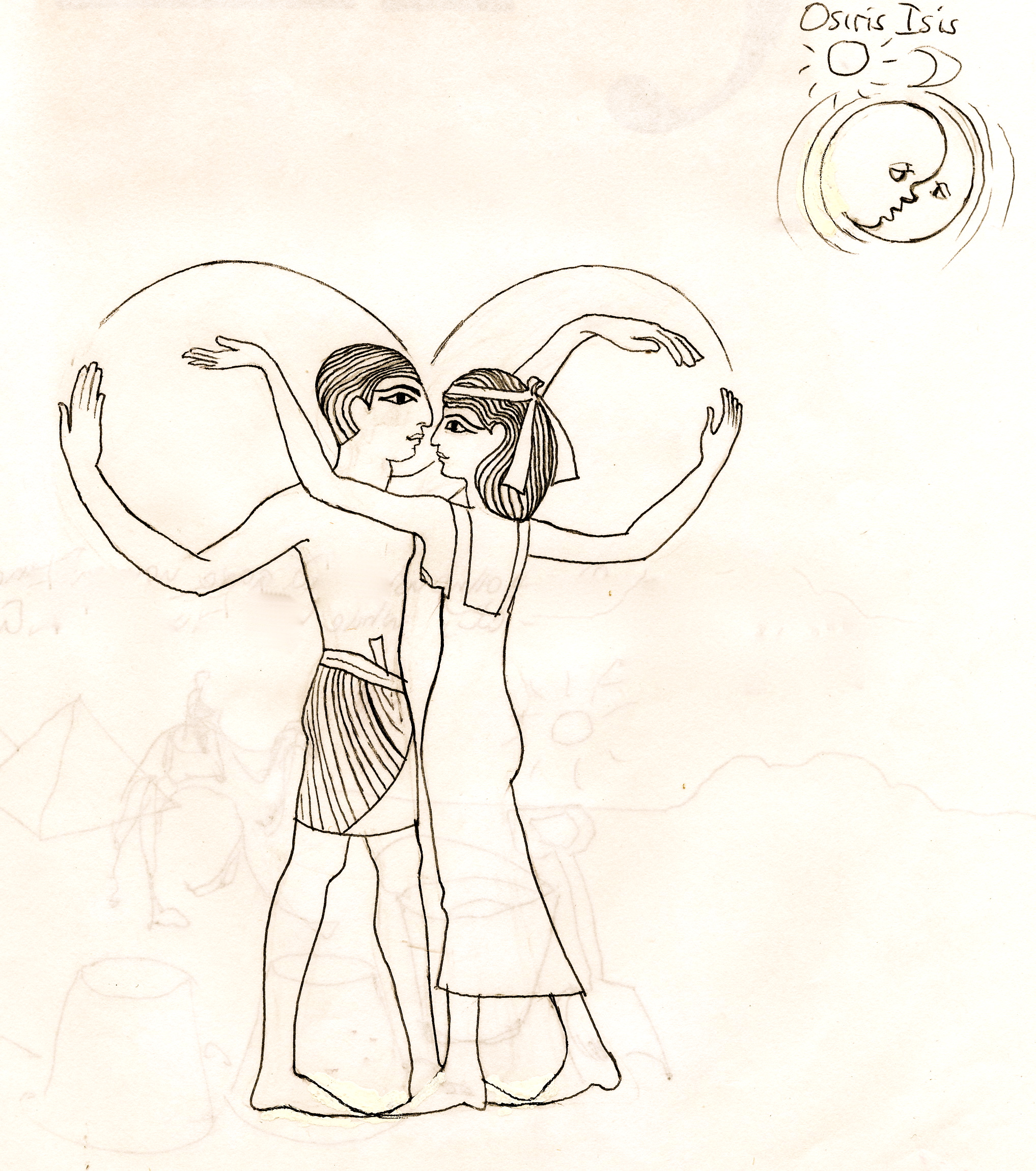 2035x2300 Mysteries Of Isis, Part 8 The Wholeness Of Osiris Janeadamsart