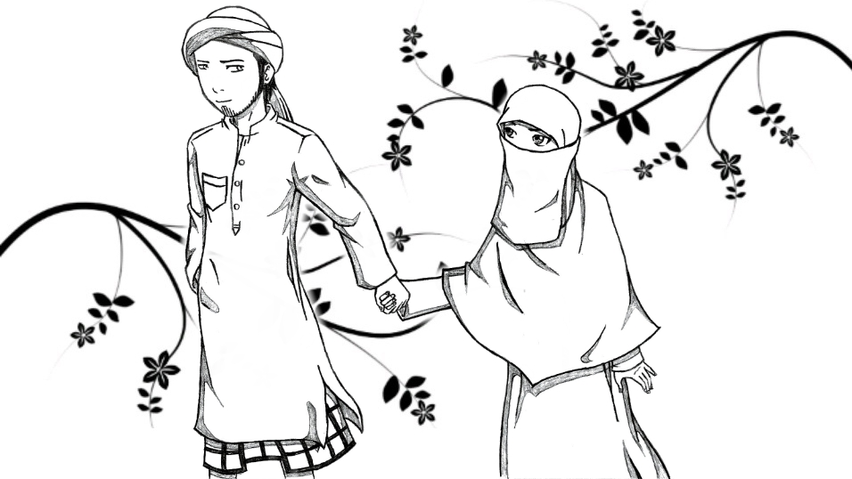 956x538 Islamic Couple By Syaabanz