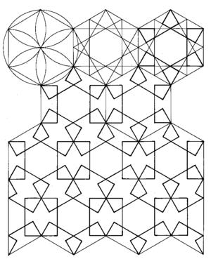 300x369 Islamic Patterns Exploration
