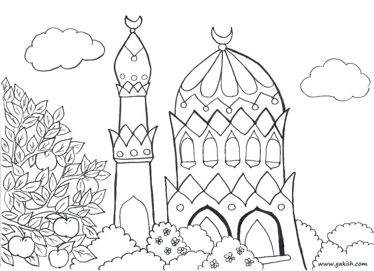 736x534 Amazing Islamic Coloring Pages Or Coloring Pages Word Colouring