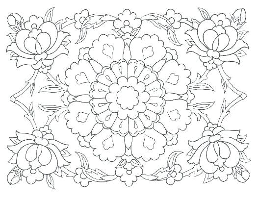 526x410 Islamic Art Coloring Sheets