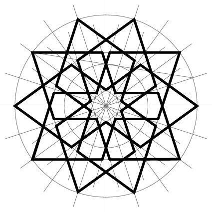 425x425 Resultado De Imagem Para Islamic Geometric Patterns Eric Broug Pdf