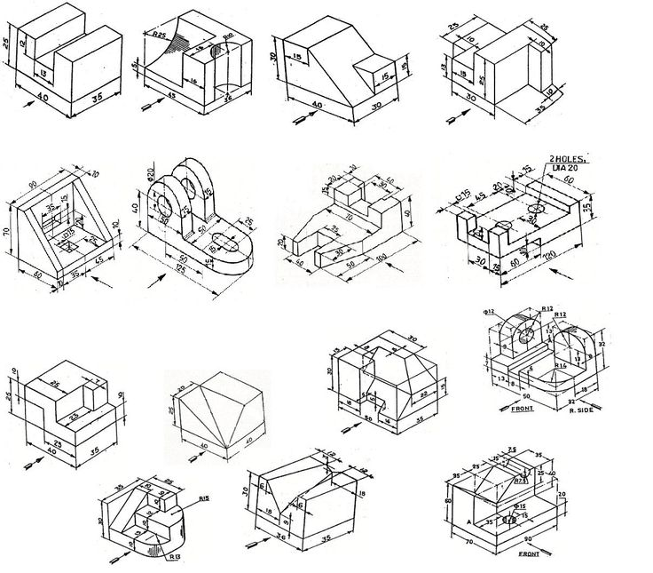736x645 20 Best Isometric Amp Technical Drawing Samples Images