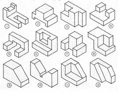 236x186 Isometric Drawing Exercises With Answers