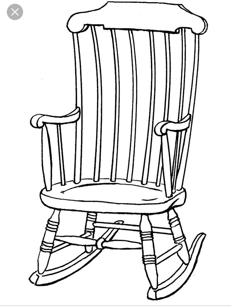 isometric drawing of a chair at getdrawings com