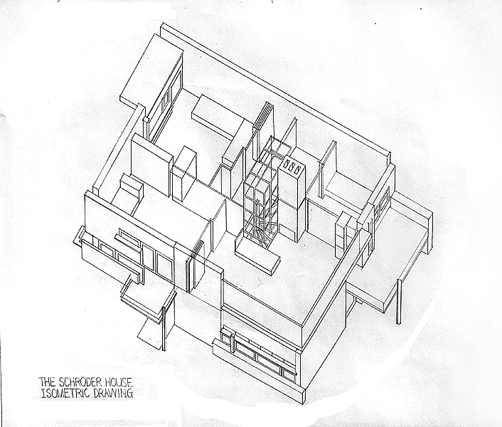Isometric House Drawing