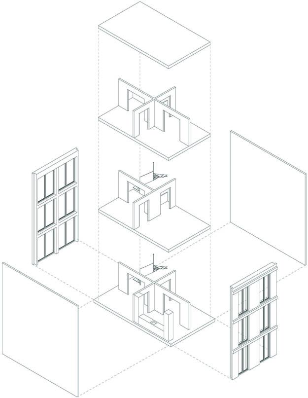 625x807 Atelier Wouter Hilhorst Wooden House