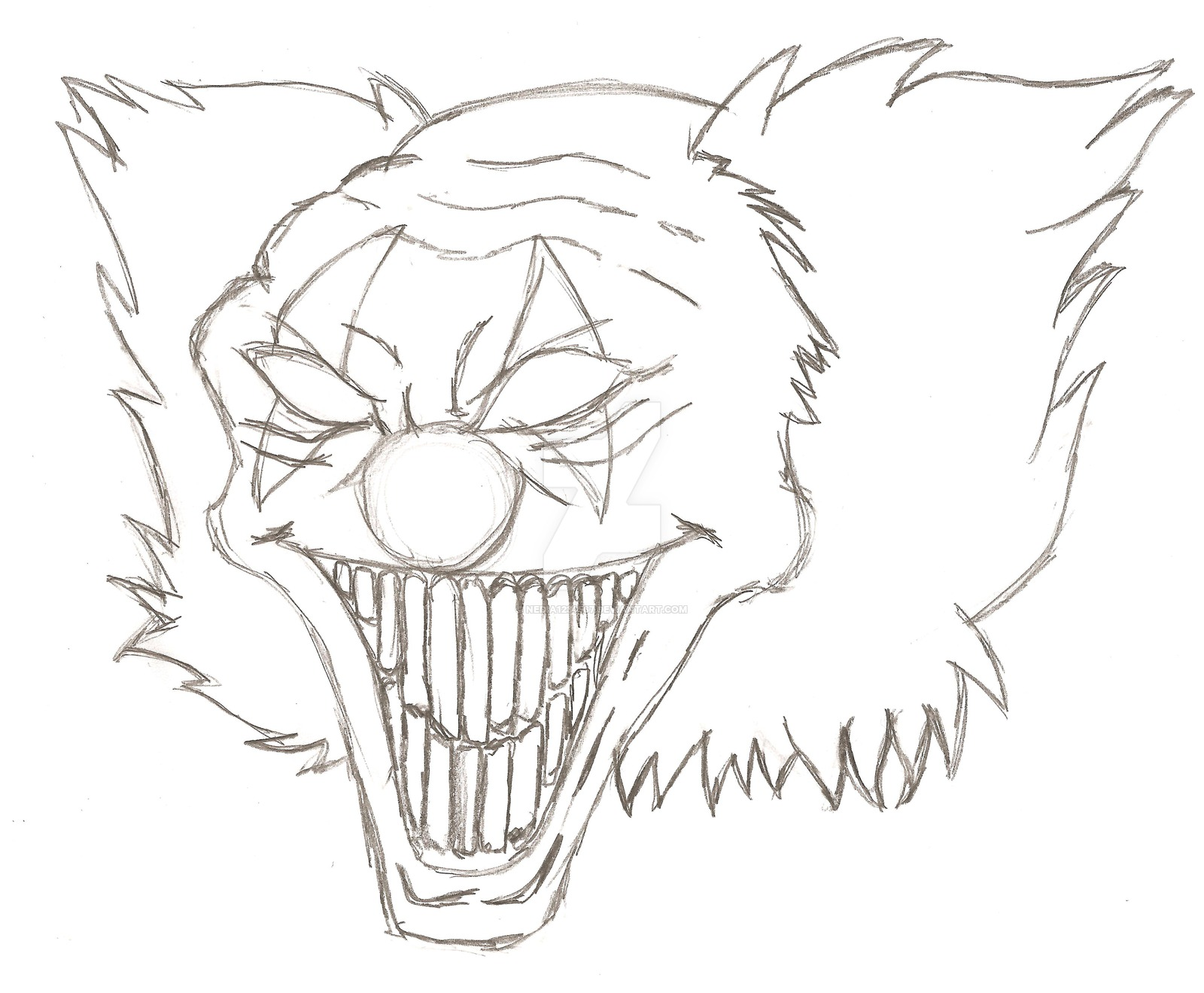 1600x1319 Astounding Inspiration Clown Outline Silly Coloring Page Free Clip