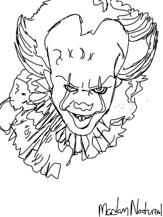 320x427 Wip On The New Pennywise It The Clown. I Am So Pumped For This