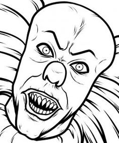 236x282 How To Draw Pennywise, Step 8. When Everything Is All Cleaned Up