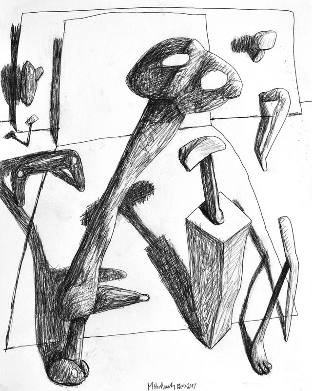 640x800 Recent Drawings
