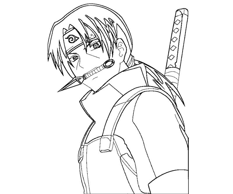 800x667 Itachi Uchiha 7 Coloring Crafty Teenager