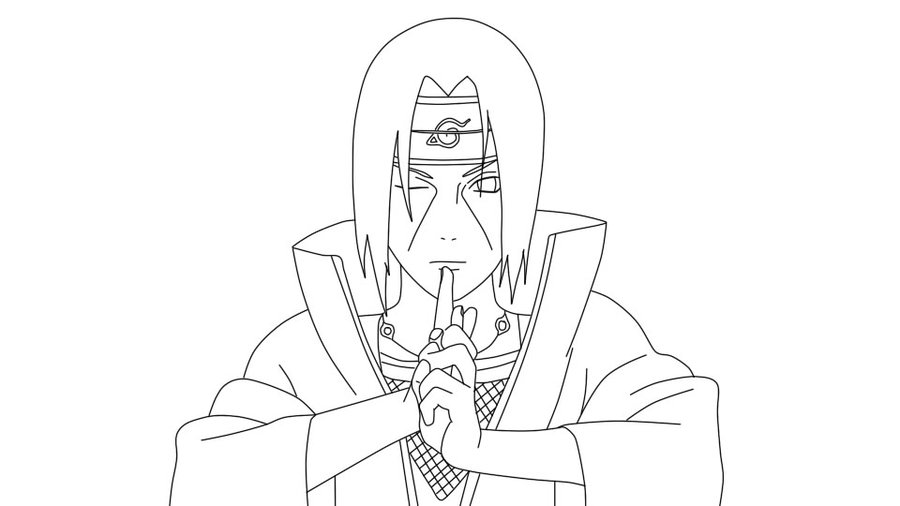 Itachi Uchiha Drawing at GetDrawings.com | Free for personal use ...
