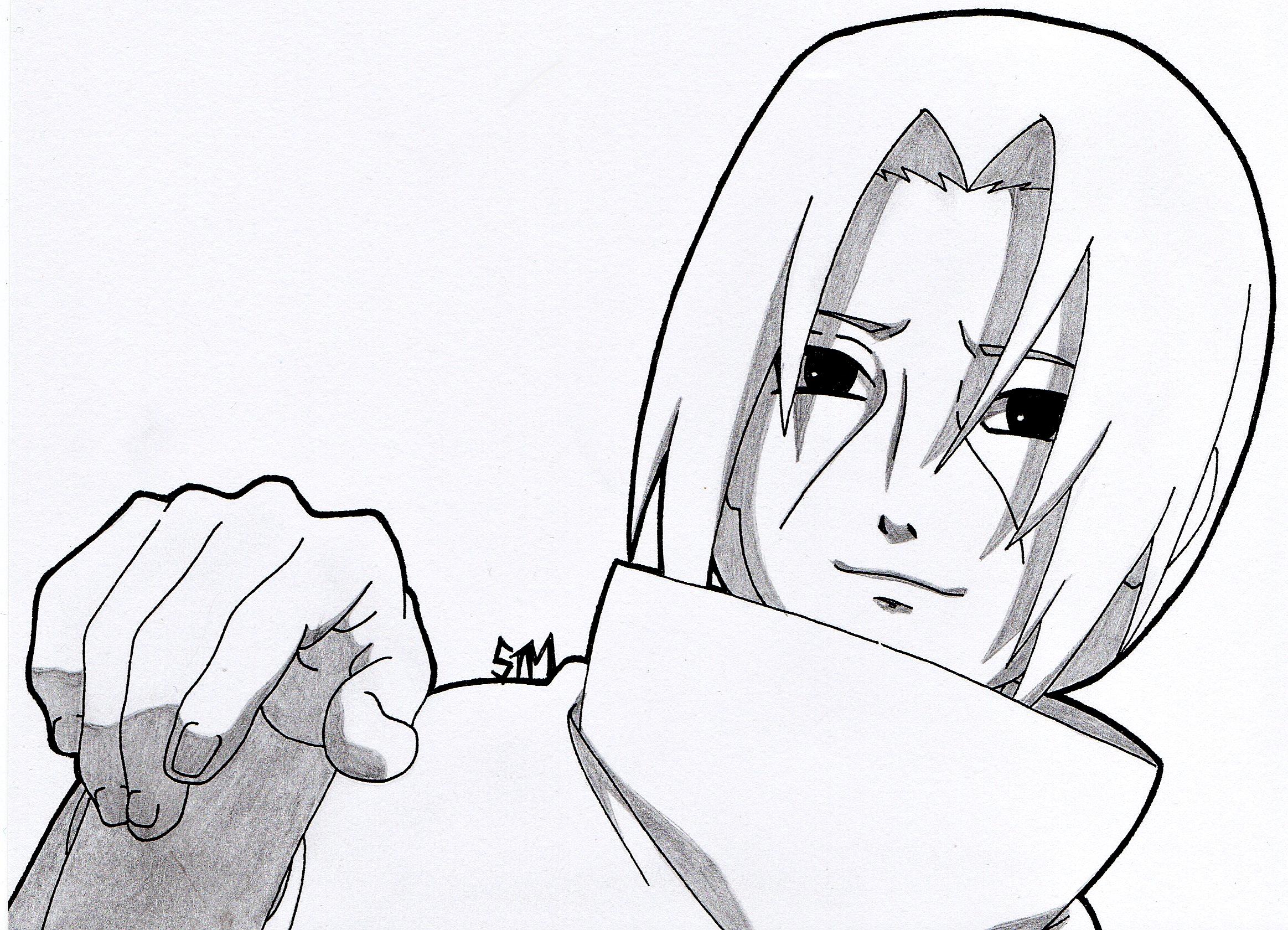 2327x1680 Another Time, Sasuke .''