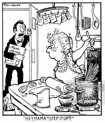 400x467 Italian Cooking Cartoons And Comics