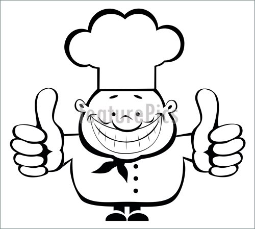 500x449 People At Work Cartoon Chef