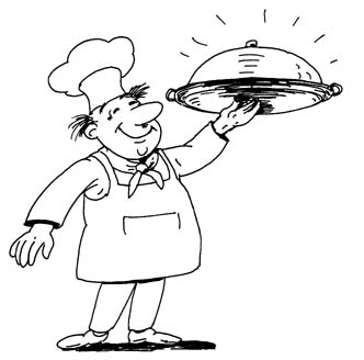 332x328 Free Chef Clipart Images