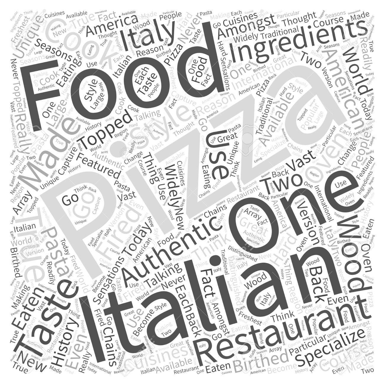 1300x1298 The History Of Pizza In Italian Food Word Cloud Concept Royalty