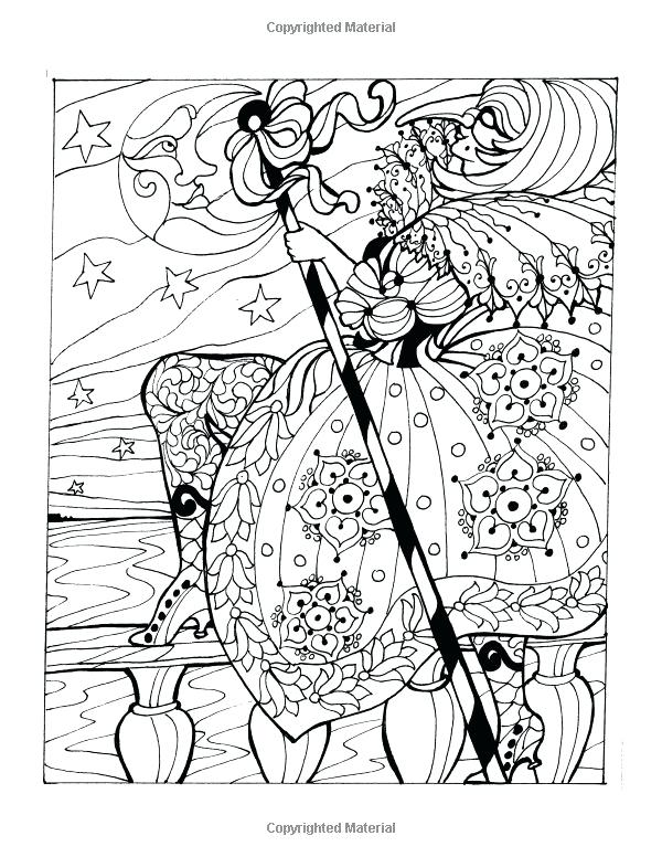 600x776 Italian Coloring Pages