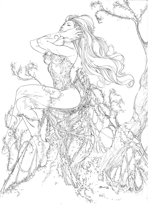 600x832 Poison Ivy 2 By Boscopenciller