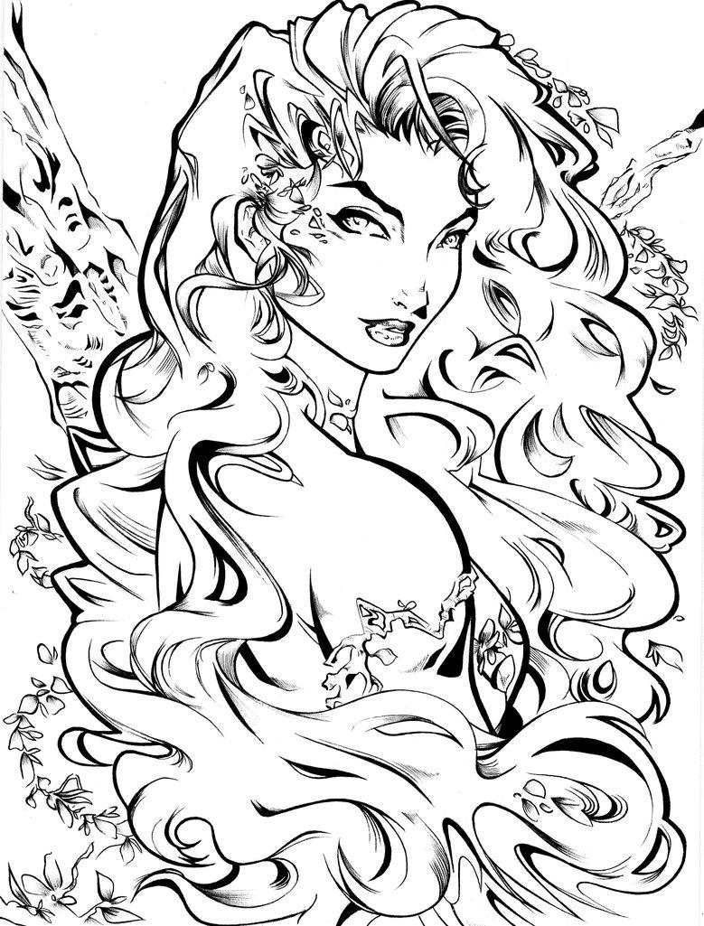 779x1025 Poison Ivy By Artcrawl